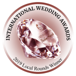 International Wedding Awards 2019 Local Rounds Winner